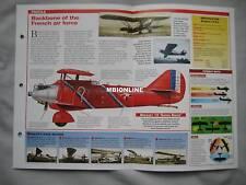 Aircraft of the World Card 21 , Group 14 - Breguet Model 19