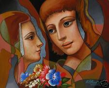 Oleg Zhivetin framed m/m original  on paper, 1