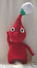 "Lot of 2pcs 12""  Handmade PIKMIN 2 Plush Doll Red Body with Bud Toy"