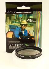 Filtro Polarizador Circular Vivitar 49mm CPL Canon Nikon Sony Olympus Pentax
