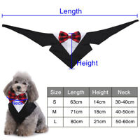 Dog Puppy Bow Tie Adjustable Pet Collar Grooming For Cat Puppy Necktie Bowtie