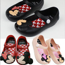 Toddler Infant Kids Girls Mickey Minnie Sandals Flats Jelly Shoes Casual Summer