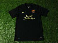 BARCELONA BARCA SPAIN 2011-2012 FOOTBALL SHIRT JERSEY AWAY NIKE ORIGINAL SIZE S
