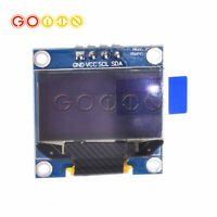 "5PCS Yellow Blue 0.96"" IIC I2C 128X64 OLED LCD Display Module Arduino/STM32"