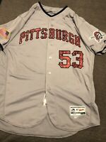 PITTSBURGH PIRATES NEW YORK METS Detroit Tigers, SMOKER GAME WORN USED JERSEY!