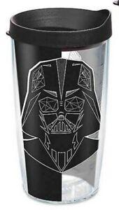 Tervis Star Wars Vader Trooper 16 oz Plastic Thermal Tumbler Travel Cup Mug USA