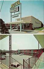 Baltimore Maryland Old Towson East Motel Postcard - Unposted