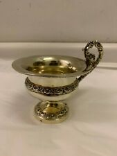 Antique French and Silver Gilt Handled Cup, Paris, 1819-1838