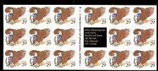 STATI UNITI - 1992 - Aquila e stemma (iscrizioni in bruno-giallo) in min. di 17