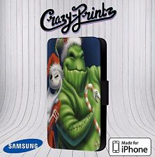 Nightmare Before Christmas Cool fits iPhone/Samsung Leather Flip Case Cover U18