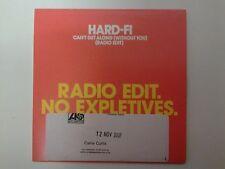 Hard-Fi Can't Get Along (Without You) [Radio Edit] Promo DJ CD Single