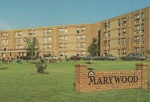 Marywood retirement apartments Manassas Virginia exterior autos postcard A866