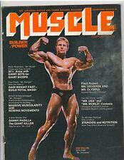 Muscle Builder Bodybuilding Fitness Magazine KEN WALLER 2-76