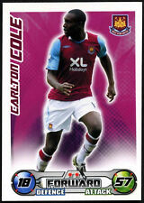 Carlton Cole - West Ham United - Match Attax 08/09 Trade Card (C415)