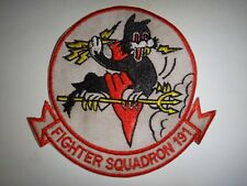 Korea War (1950-53) Us Air Force 191st Fighter Squadron Patch