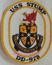 PUS440 - US NAVY USS STUMP DD-978 PATCH