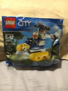 LEGO City 30311 Swamp Police Helicopter Polybag