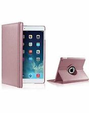 360 Degree Rotating PU Leather Smart Stand Case Cover for iPad 4 iPad 3 iPad 2 Rose Gold