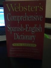 Websters Comprehensive Spanish-English Dictionary