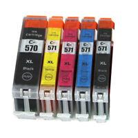 Any 15 Canon PGI570 CLI571 compatible inks for Pixma MG570 MG6850 MG7750 TS5050