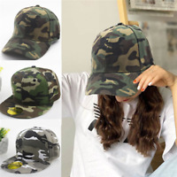Hat Women's Men's Camo Caps Military Army Outdoor Baseball Camouflage Snapback