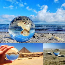 60mm Crystal Clear Quartz Ball Home Decor Sphere Photography Props Z