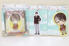 JAPAN Sanrio Danshi Acrylic Pass Case and Two Big Tag SET Kota Hasegawa
