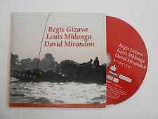 REGIS GIZAVO, LOUIS & DAVID : STORIES [ CD ALBUM PROMO PORT GRATUIT ]