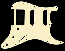 HSS Stratocaster Strat Scratchplate Pickguard - DIRECT FIT for USA, MEX Fender