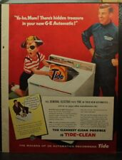 vintage 1956 Tide ad Pirate boy Halloween costume  Appliance Repair service Man