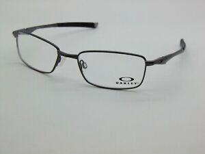 OAKLEY BOTTLE ROCKET 4.0 11-967 Pewter 53mm Rx Authentic Eyeglasses