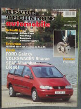 REVUE TECHNIQUE FORD GALAXY - VOLKSWAGEN SHARAN & SEAT ALHAMBRA Diesel