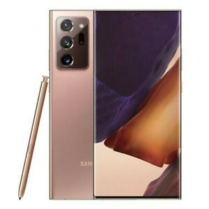 Samsung Galaxy Note20 Ultra 5G SM-N986B - 256GB - Mystic Bronze (Unlocked)