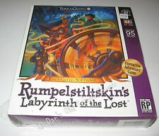 Rumpelstiltskin's Labyrinth of the Lost NEW SEALED BIG BOX PC Game RARE