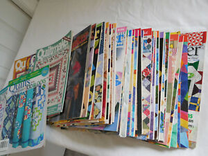 CHOICE of ALL QUILTMAKER Magazine Lot years 1990 to 2012