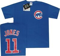 Jacque Jones 2008 Chicago Cubs T Shirt MENS Majestic New CLEARANCE
