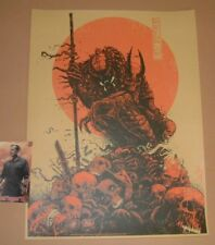Hunter Predator Godmachine Movie Poster Print Art Red Edition