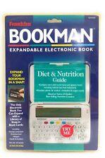 Franklin Bookman Expandable Electronic Book Diet & Nutrition Guide #SLM-440
