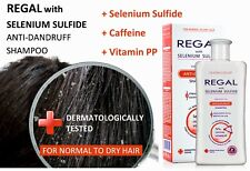 REGAL ANTI-DANDRUFF SHAMPOO FOR NORMAL TO DRY HAIR with Selenium Sulfide