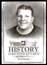2013-14 ITG Lord Stanley's Mug History  Turk Broda #HI-SM19