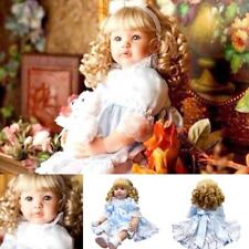 Blonde Reborn Baby Girl Doll Toddler Realistic Dolls Lifelike Toys Babies Gifts