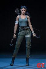 GTtoys 1:6 Tomb Raider Lara Croft Head Sculpt W Clothes And Battle Suit Collect