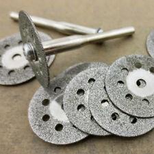 1 Set Circular Saw Blades Rotary Tool Cut Useful Wheel Discs Mandrel Dremel HOT