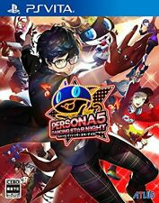 USED Atlus PS VITA Persona 5 Dancing Star Night