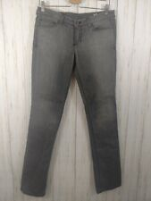 Peoples Liberation Womens Gray Tanya Skinny jeans low rise blend 29