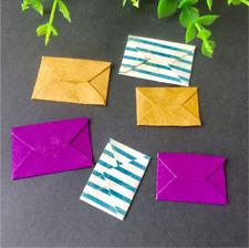 Stanzschablone Mini Briefumschlag Weihnachten Papier Karte Album Foto Deko DIY
