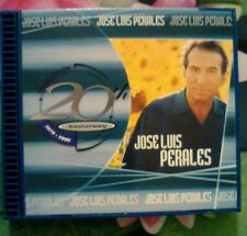 20th Anniversary by Jos' Luis Perales (CD, Sep-1999, Sony Discos Inc.)