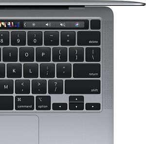 Apple MacBook Pro 13in (256GB SSD, M1 Chip, 8GB) Laptop - Space Gray 2020