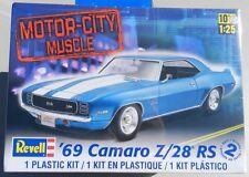 CHEVY NOS 1969 69 CAMARO Z/28 Z 28 RS Z28 GM REVELL MODEL KIT