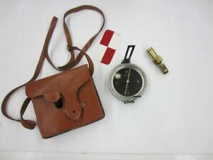 Antique Eugene Dietzgen Geologist Surveyor Compass Inclinometer Survey Tool